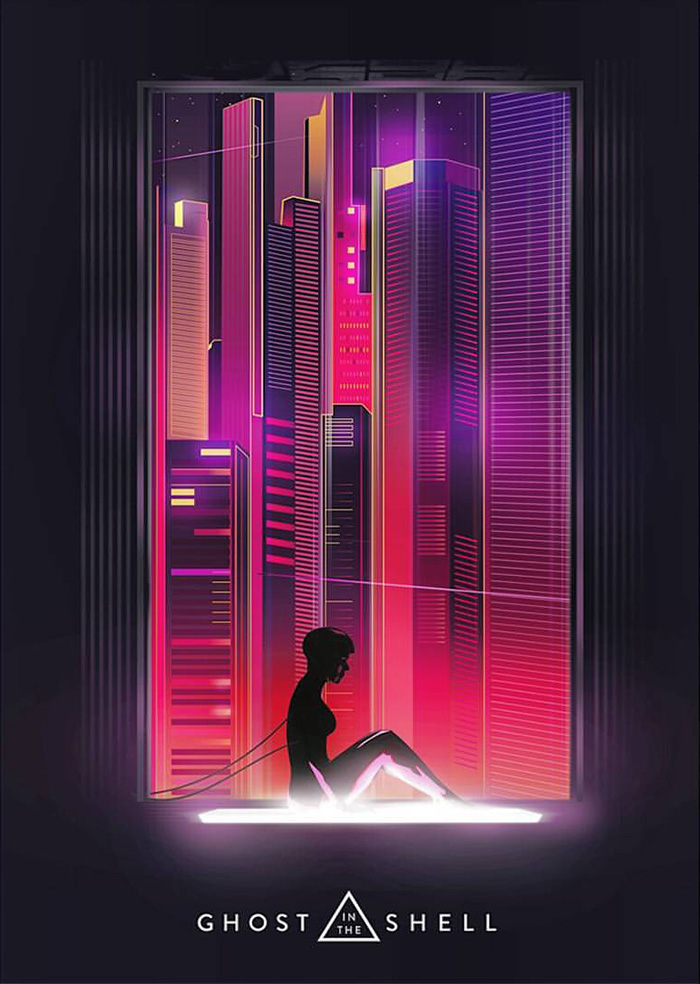 Ghost In The Shell By I Am Loudness Home Of The Alternative Movie Poster Amp