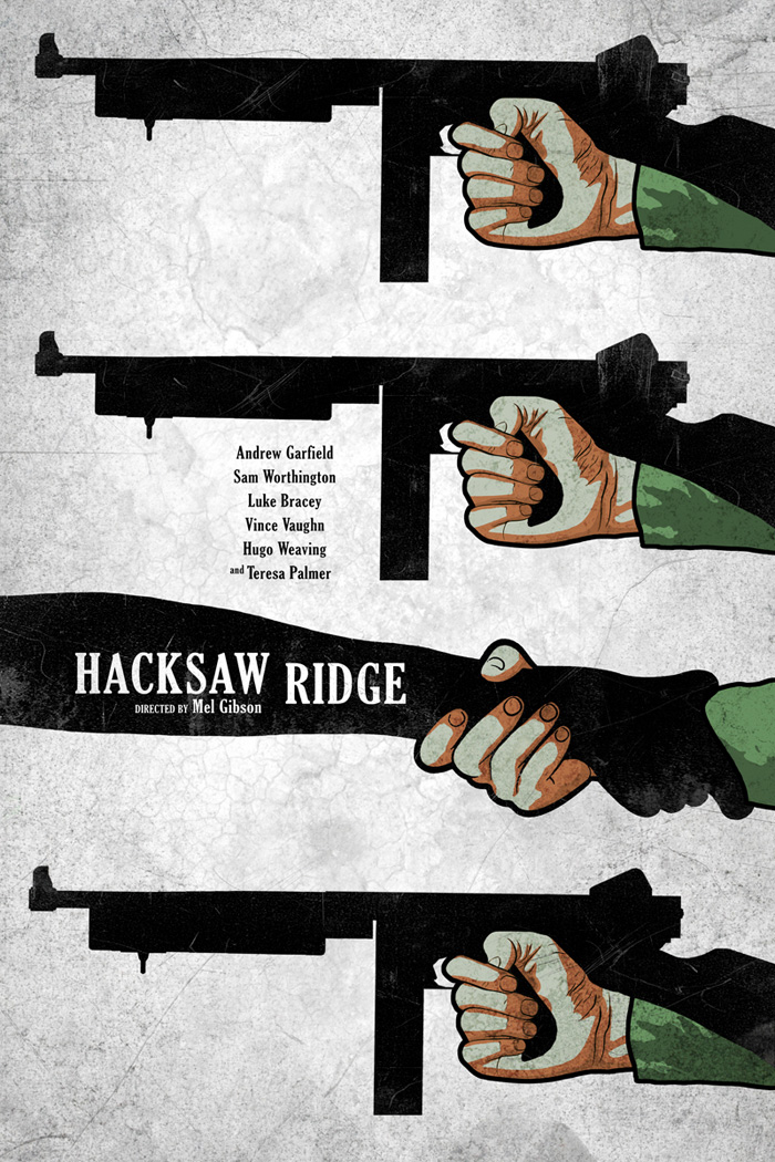 Hacksaw Ridge By Edgar Ascensao Home Of The Alternative Movie Poster Amp