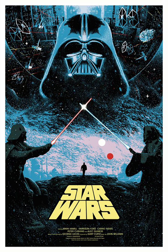 Star Wars Episode Iv A New Hope By Kilian Eng Home Of The Alternative Movie Poster Amp