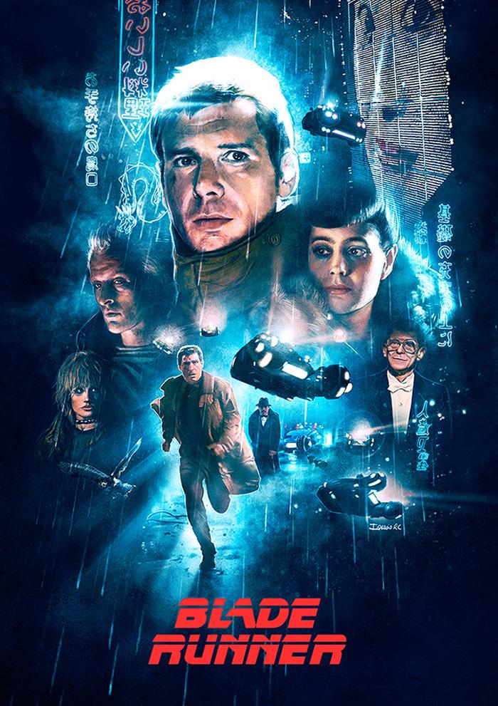 Blade Runner by Ignacio - Home of the Alternative Movie Poster -AMP-