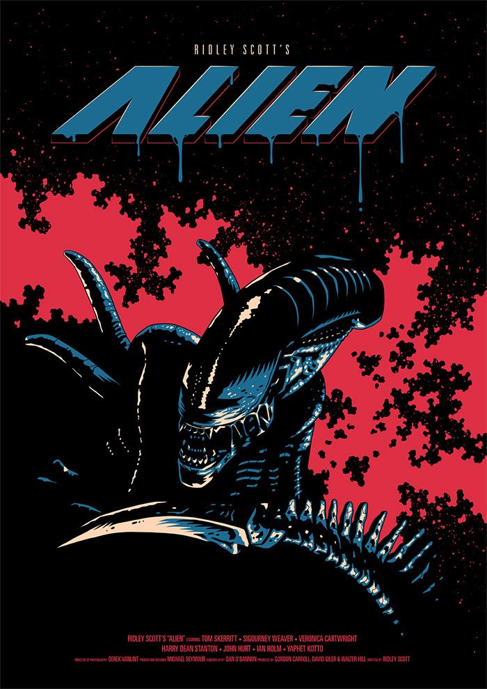 Alien Movie Poster Original