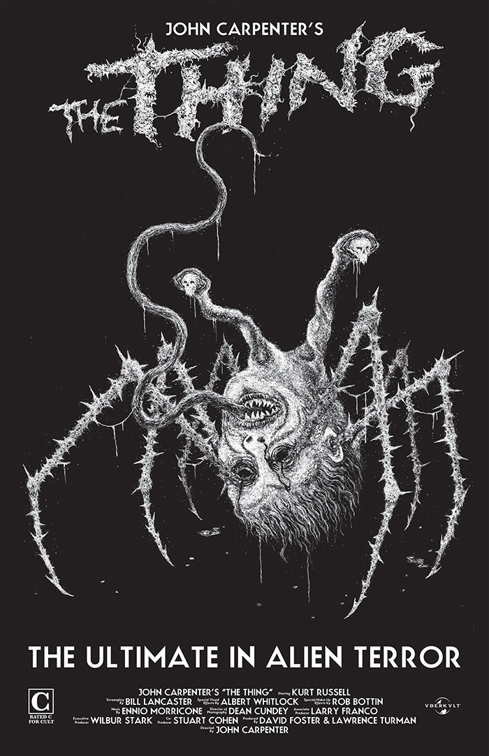 The Thing by Justin Bartlett - Home of the Alternative Movie Poster