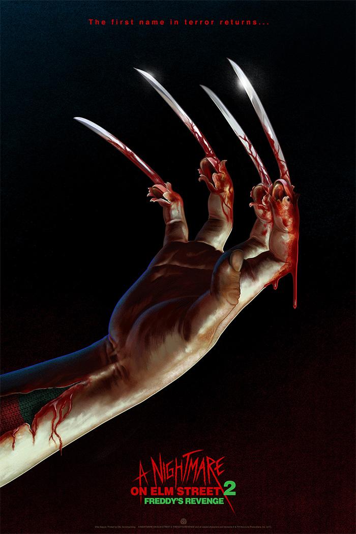 Nightmare On Elm Street 2 Poster A Nightmare on Elm Str...