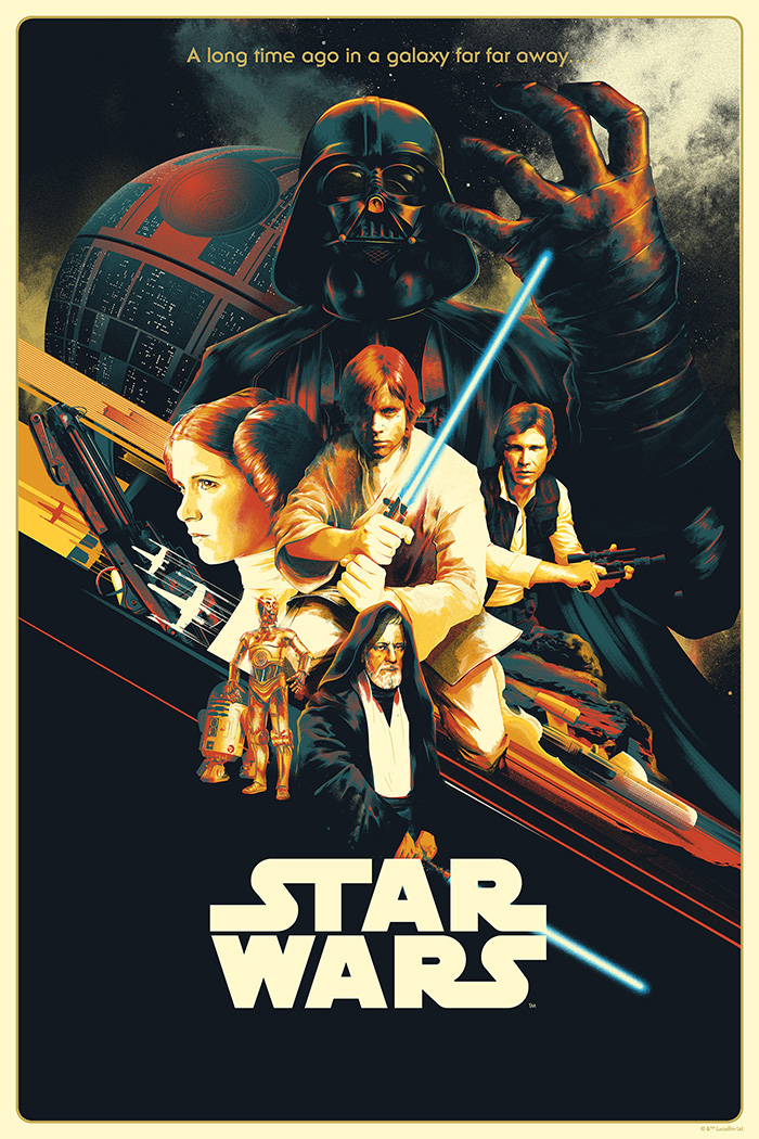 Star Wars Episode Iv A New Hope By Matt Taylor Home Of The Alternative Movie Poster Amp