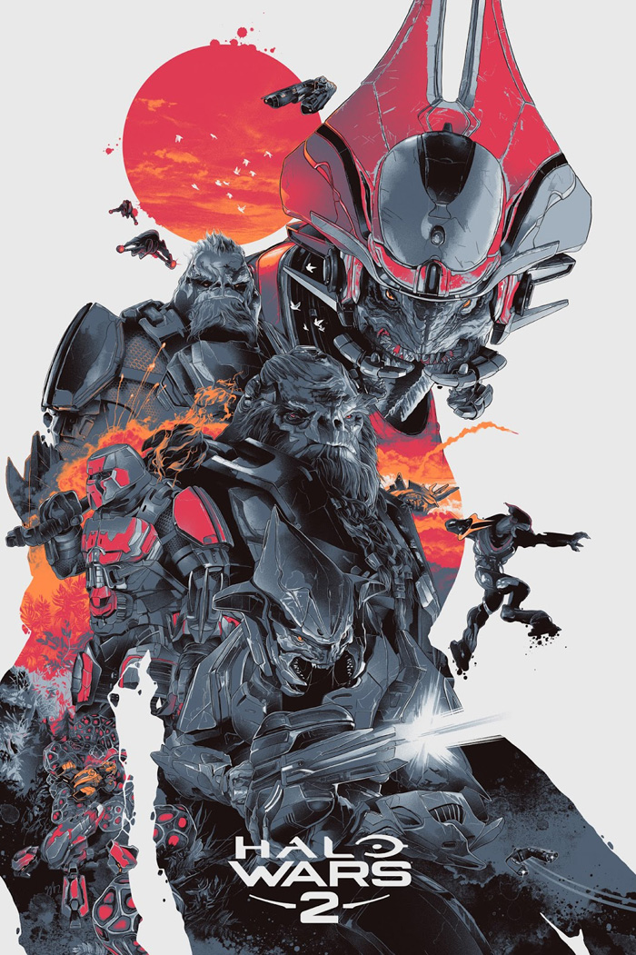 Halo Wars 2 Archives Home Of The Alternative Movie Poster Amp