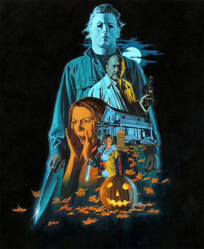 Halloween Archives , Home of the Alternative Movie Poster ,AMP,