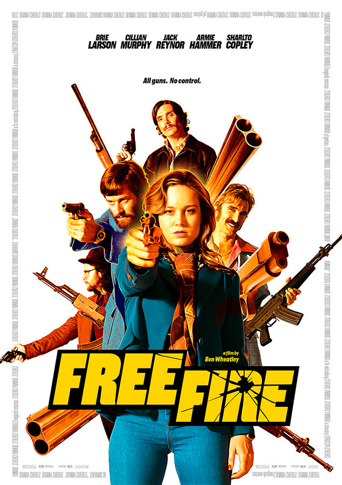 Free Fire Archives Home Of The Alternative Movie Poster Amp