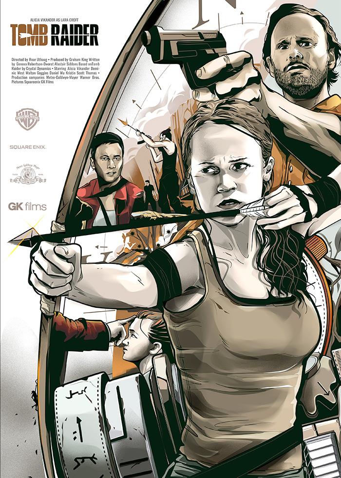 Tomb Raider By Niel Marcelino Home Of The Alternative Movie