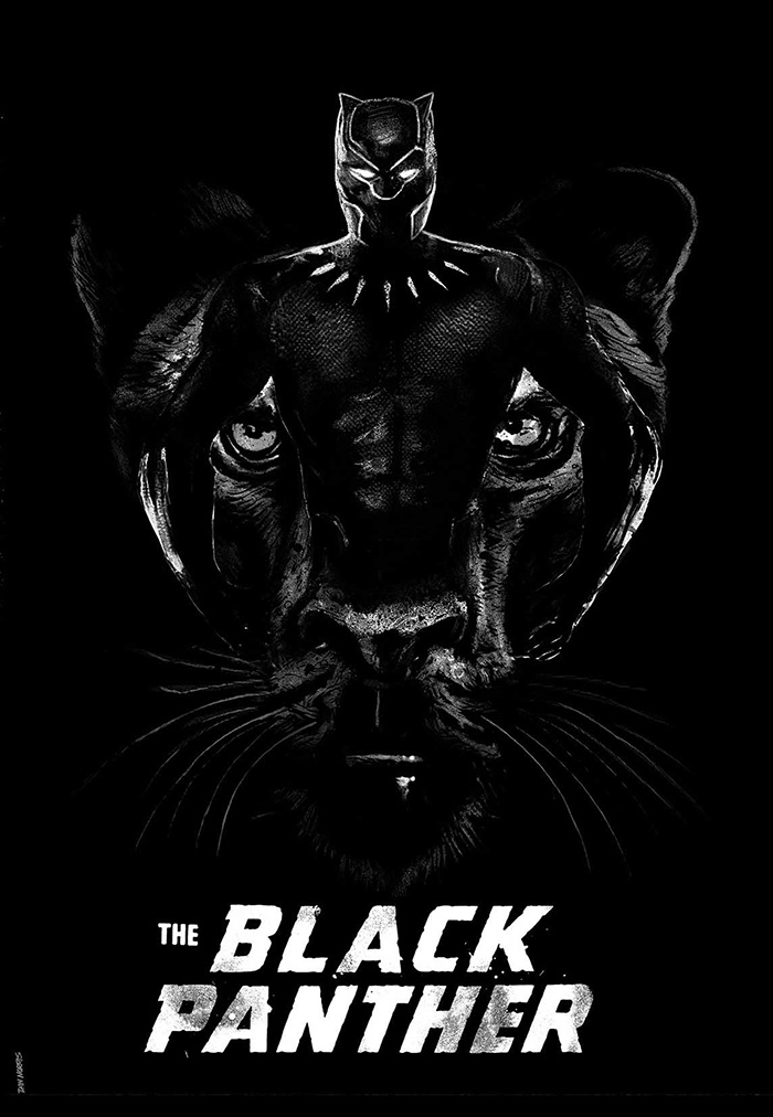 Black Panther By Daniel Norris Home Of The Alternative Movie Poster Amp