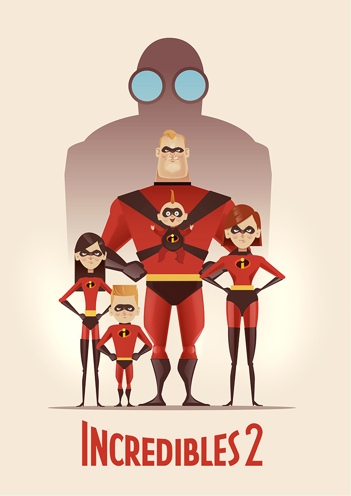 Incredibles 2 By Cristhian Hova Home Of The Alternative Movie Poster Amp