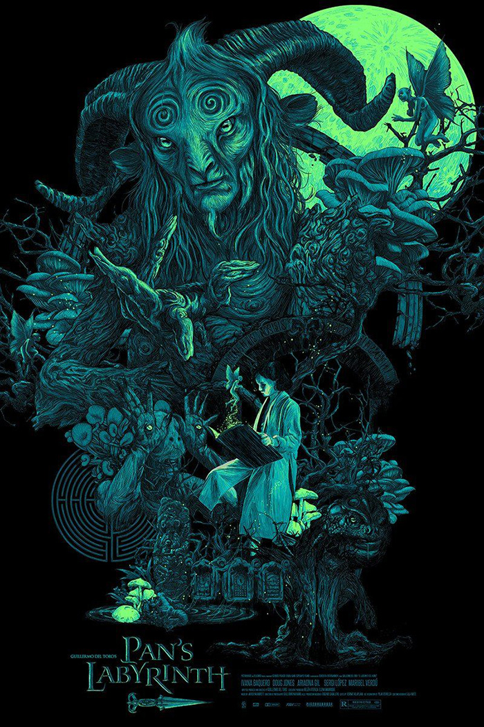 Pan's Labyrinth by Vance Kelly - Home of the Alternative Movie