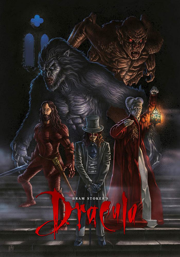 POSTER Drácula de Bram Stoker