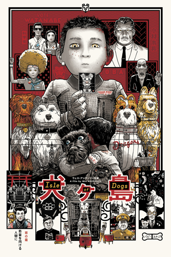 Isle Of Dogs By Joshua Budich Home Of The Alternative Movie Poster Amp