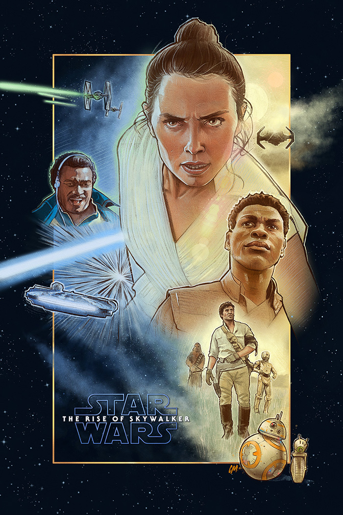 Star Wars The Rise Of Skywalker Archives Home Of The Alternative Movie Poster Amp