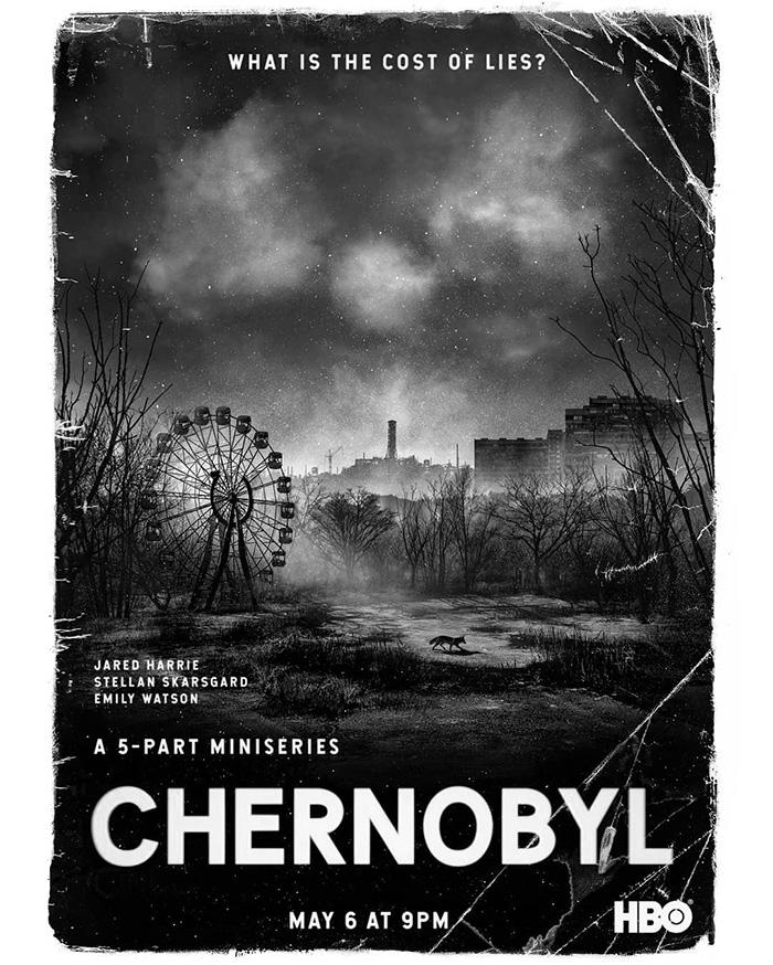 Resultado de imagem para chernobyl poster