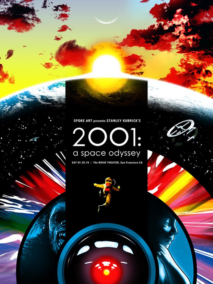 2001: A Space Odyssey by Joshua Budich