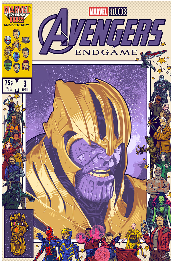 Thanos by Danny Schlitz