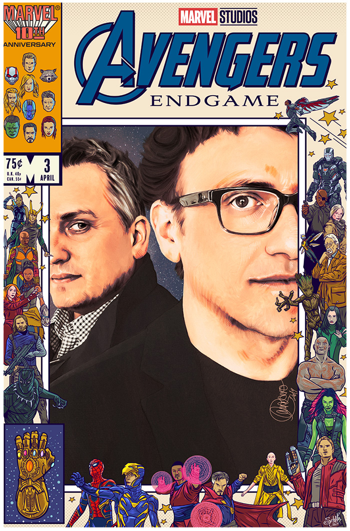 Russo Brothers by Laura Racero