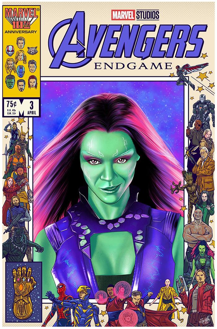 Gamora by Liza Shumskaya