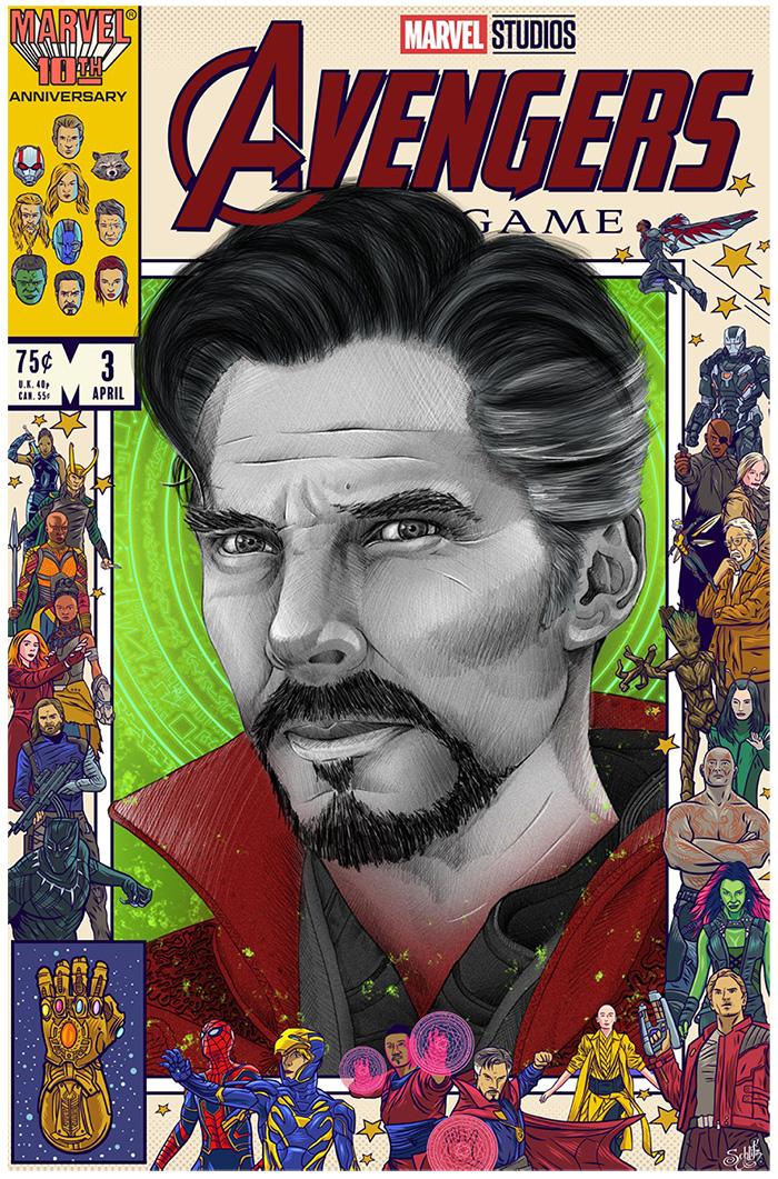 Doctor Strange by Lucas Tetrault