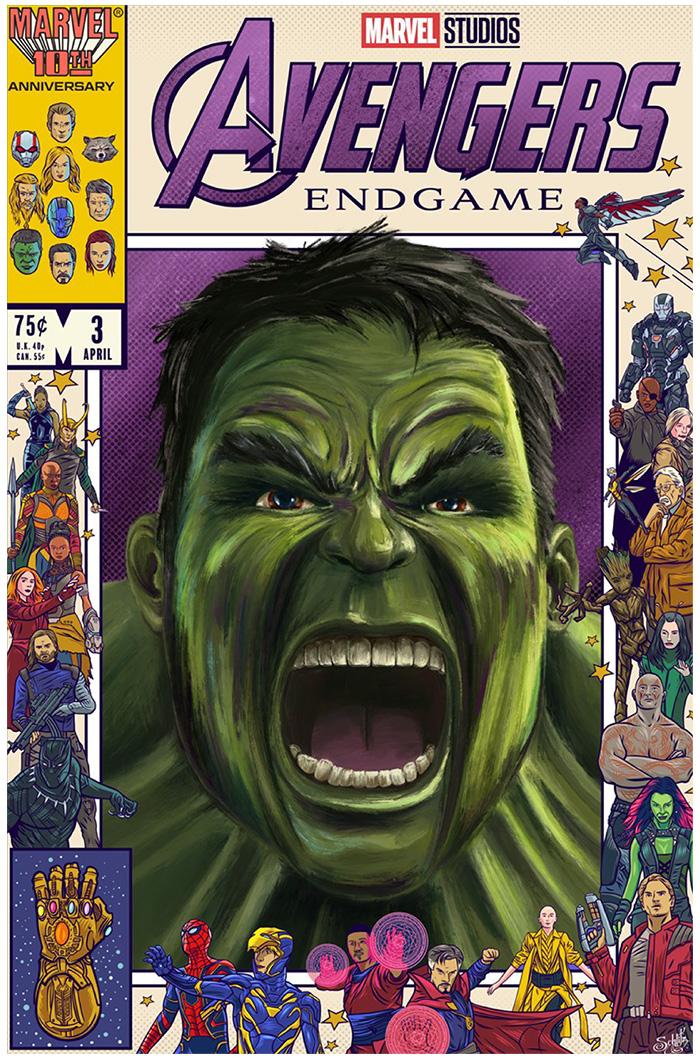Hulk by Lucas Tetrault