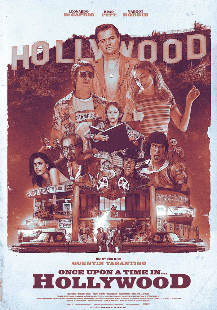 Once Upon A Time… In Hollywood by Gerardo Lisanti