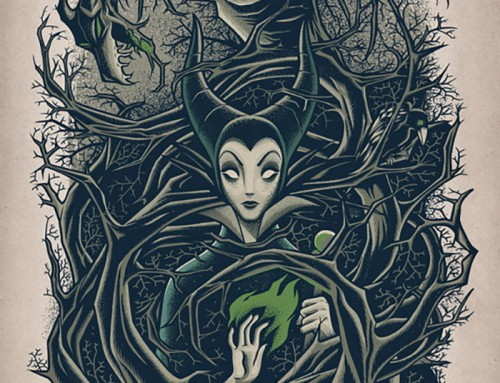 Maleficent by Dave Quiggle