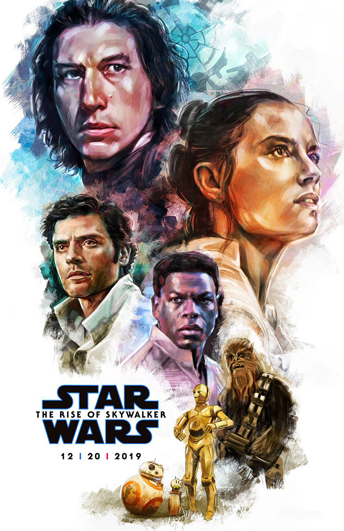 Star Wars The Rise Of Skywalker By Cheryl Savala Home Of The Alternative Movie Poster Amp