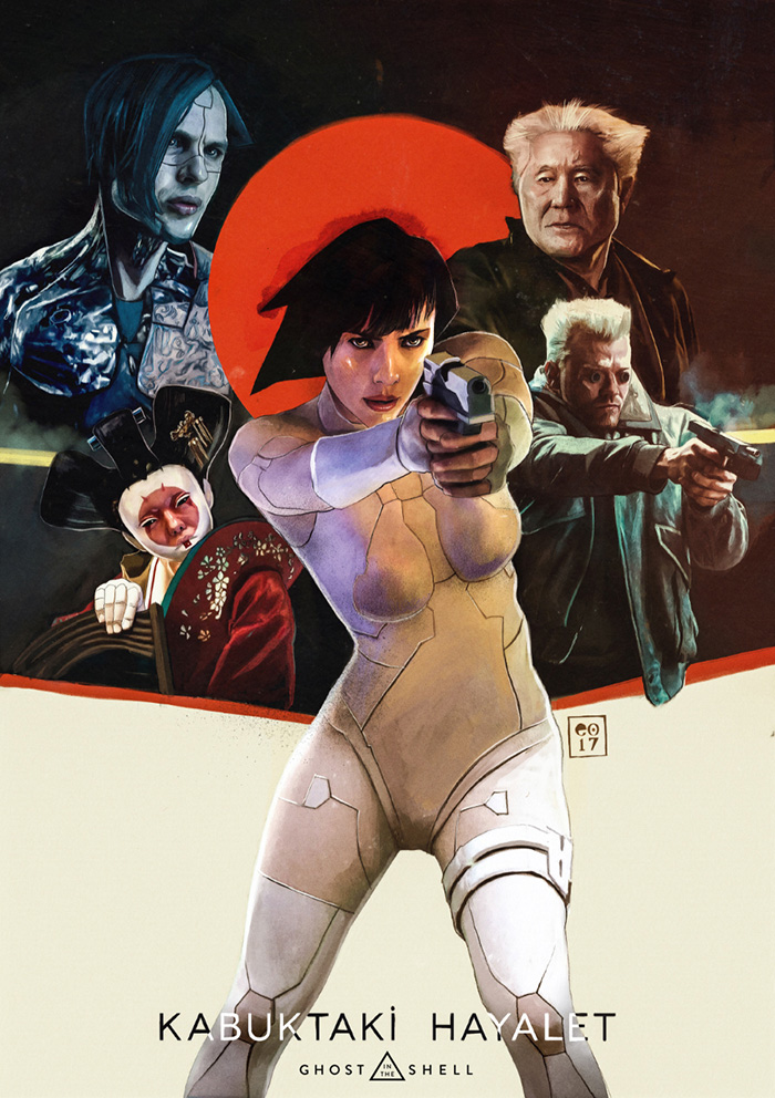 Ghost In The Shell Archives Home Of The Alternative Movie Poster Amp