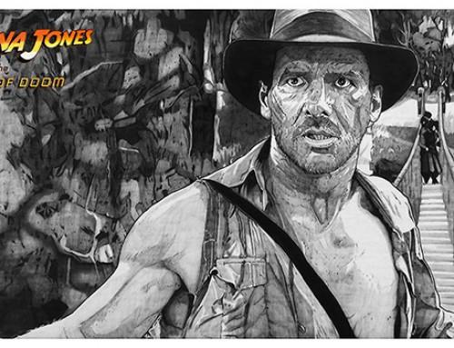 Indiana Jones and the Temple of Doom by Carles Ganya