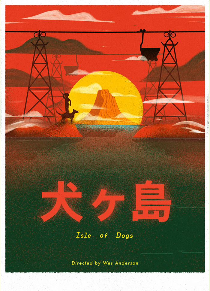 Isle Of Dogs By Justyna Frackiewicz Home Of The Alternative Movie Poster Amp