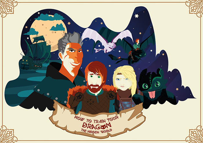How To Train Your Dragon The Hidden World Archives Home Of The Alternative Movie Poster Amp