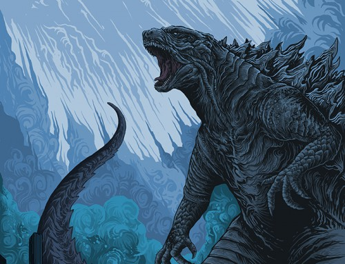 Godzilla: King of the Monsters by Artmorfate