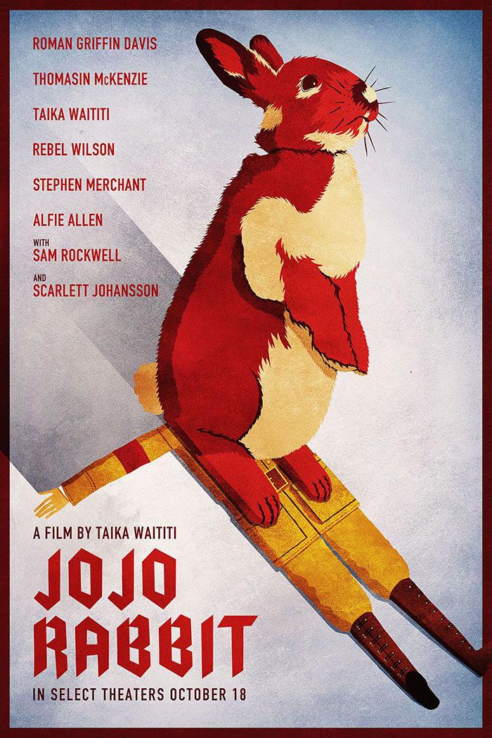 Jojo Rabbit Poster >> Jojo Rabbit By Victor Barreto Home Of The Alternative