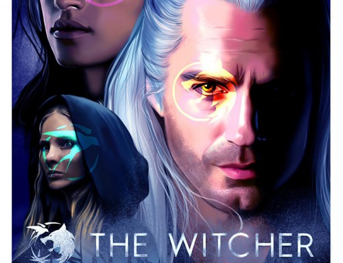 The Witcher by Camelia Clipcea