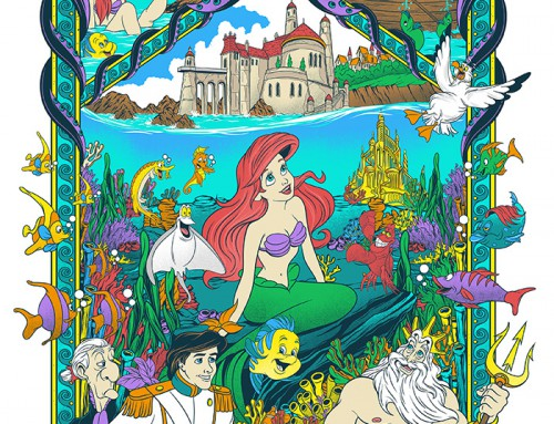 The Little Mermaid by Mainger Germain