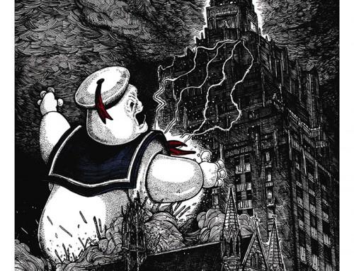 Ghostbusters by Liam Atkin