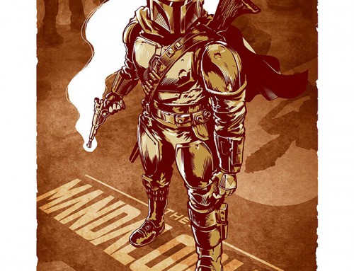The Mandalorian by Chris Kawagiwa