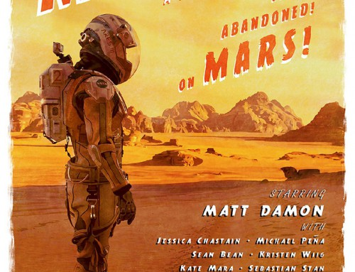 The Martian by Dakota Randall