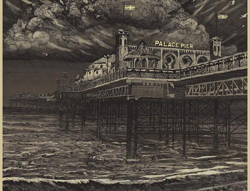Brighton Rock by Karl Fitzgerald