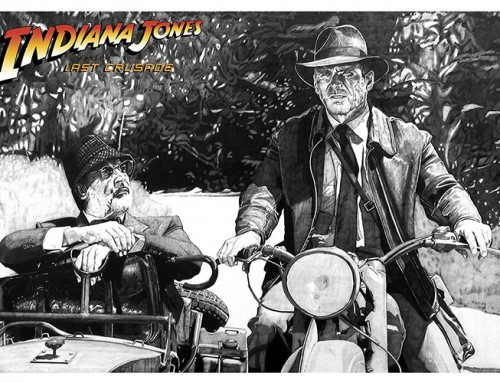 Indiana Jones and the Last Crusade by Carles Ganya