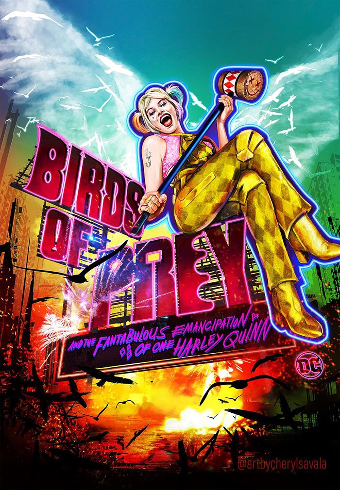 Birds Of Prey By Cheryl Savala Home Of The Alternative Movie Poster Amp