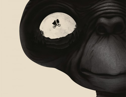 E.T. the Extra-Terrestrial by Benedict Woodhead