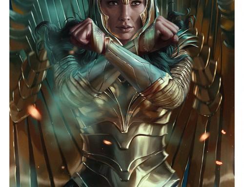 Wonder Woman 1984 by Ann Bembi