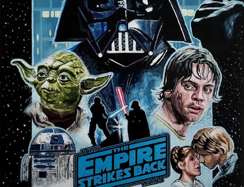 Star Wars: Episode V – The Empire Strikes Back by Matt Dammer