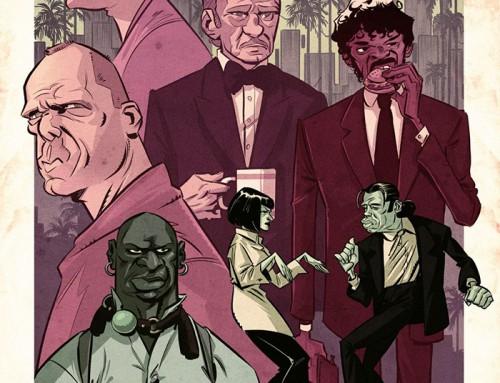 Pulp Fiction by Riccardo Rosanna