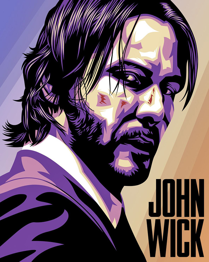 John Wick Archives Home Of The Alternative Movie Poster Amp