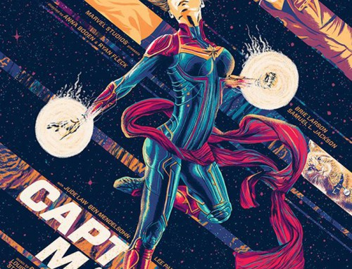 Captain Marvel by Amaury Filho