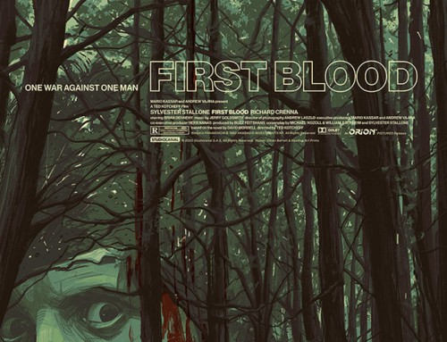 First Blood by Oliver Barrett
