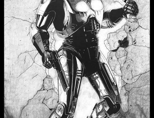 Robocop by Carles Ganya